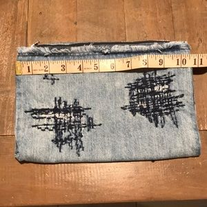 Cloth & Stone denim pouch
